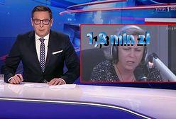 """""""Wulgarna, a nawet prostacka"""". Mocne słowa w """"Wiadomościach"""" TVP"""