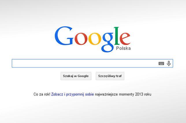 Oto najczęściej wyszukiwane hasła w Google w 2013 roku