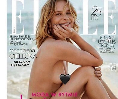 Magdalena Cielecka może się pochwalić pięknym ciałem