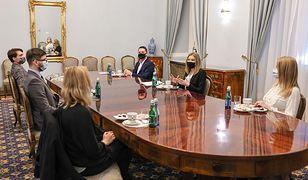 Kinga Duda organizuje w Pałacu Prezydenckim spotkania z młodzieżą. Czemu służą?