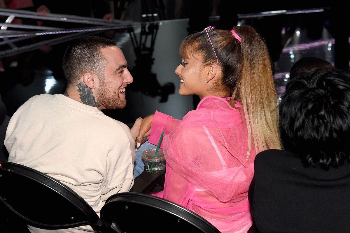 Ariana Grande reaguje na śmierć Maca Millera. Wzruszający gest