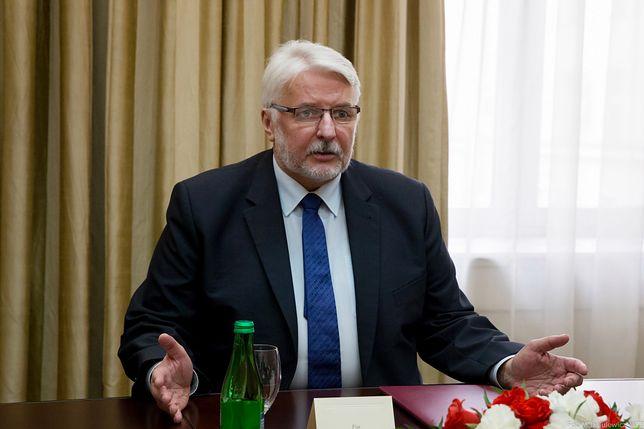Minister Witold Waszczykowski