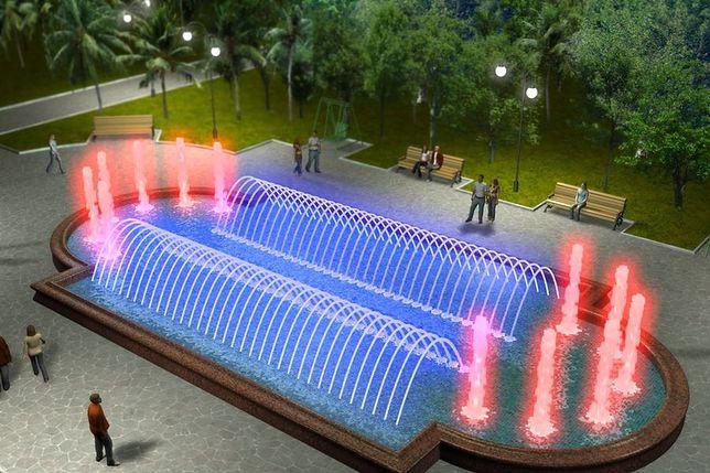 Ruszają fontanny 3D!