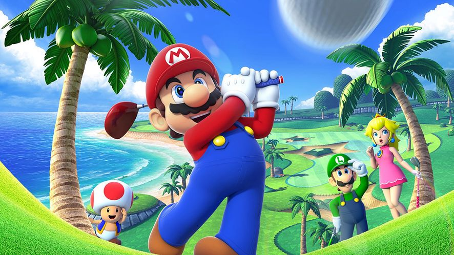 Mario Golf: World Tour — dołki 3D