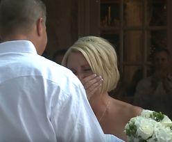 Brała ślub z mężczyzną na wózku. Nie spodziewała się takich scen przed ołtarzem