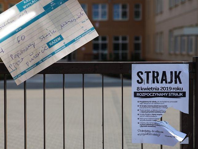 Strajk nauczycieli rozpoczął się 8 kwietnia