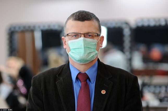 Dr Paweł Grzesiowski mówi o wtórnym ognisku koronawirusa