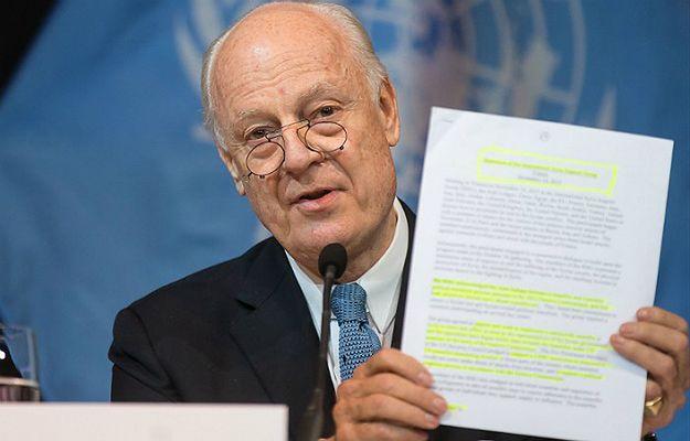 ONZ chce rozmów pokojowych ws. konfliktu w Syrii. Proponowana data to 25 stycznia