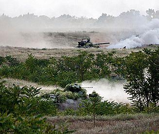 Manewry rosyjskiej armii na południowych rubieżach