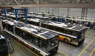 Autobusy z panelami słonecznymi od jesieni na ulicach Warszawy