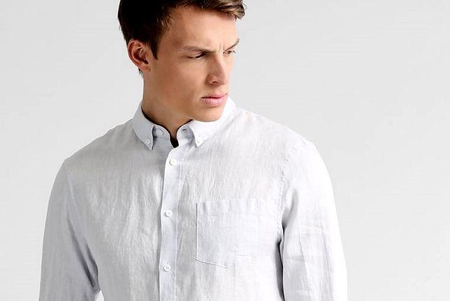 Lniane koszule dla facetów do 200 zł