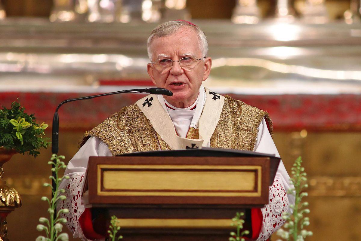 """Abp Marek Jędraszewski podczas ostatniego kazania mówił m.in. o """"usuwaniu dzieci"""""""