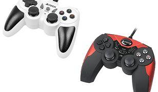 Pady do gier do PC i Play Station od A4Tech