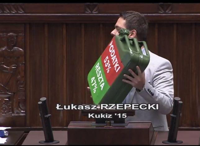 Posła Rzepeckiego musiał uspokajać Paweł Kukiz