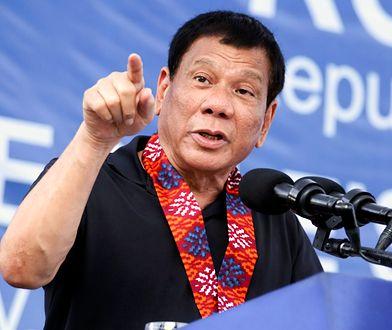 """""""Dajcie mi sól i ocet"""". Prezydent Filipin chce """"zjadać"""" islamistów"""