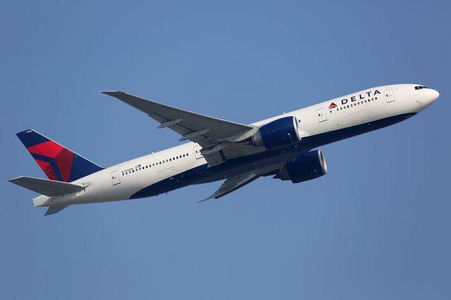 Samolot linii Delta (zdjęcie ilustracyjne)