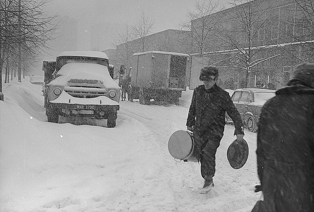 30 stycznia 1979. Zima Stulecia na Wierzbnie w Warszawie