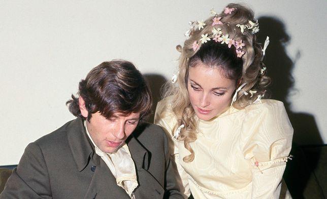 Sharon Tate z mężem Romanem Polańskim