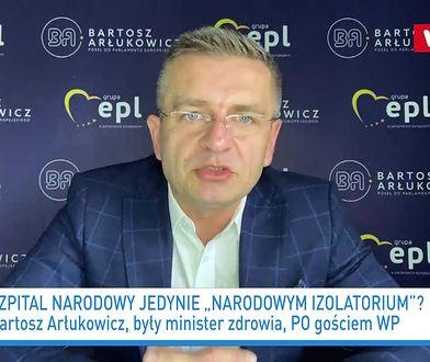 Koronawirus w Polsce. Bartosz Arłukowicz zaniepokojony sytuacją na Stadionie Narodowym