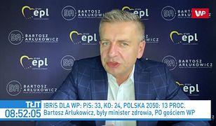 Najnowszy sondaż dla WP. Bartosz Arłukowicz komentuje