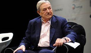 George Soros skrytykował Orbana