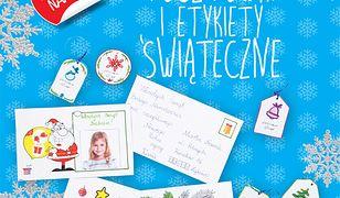 Święta, święta!. Święta, święta! Pocztówki i etykiety świąteczne. Zrób to sam