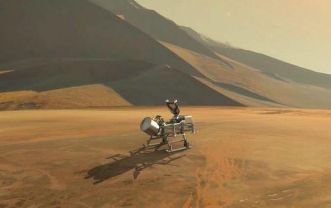 Nowa misja NASA: Dragonfly poleci na księżyc Saturna w poszukiwaniu oznak życia