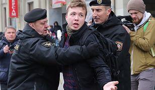 Białoruski reżim jest bezwzględny. Co grozi zatrzymanemu dziennikarzowi?