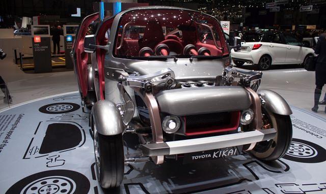 Toyota Kikai: nietuzinkowa jak japońskie teleturnieje