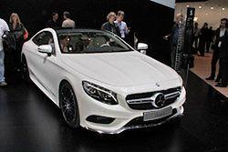 Mercedes Klasy S Coupe: sportowy luksus