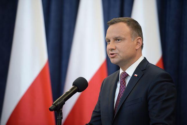 """Weta prezydenta Andrzeja Dudy ws. ustaw o SN i KRS. """"Mam nadzieję, że uda się je przygotować w ciągu dwóch miesięcy"""""""