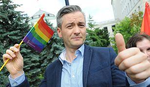 Robert Biedroń będzie się starał o kolejną kadencję prezydencką w Słupsku. Na prezydenta Polski nie wystartuje