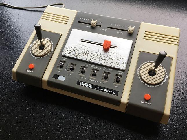 Intel TV Sport 4010 zadebiutowała w 1978 roku