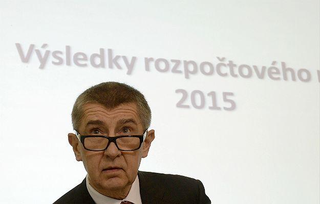 Czeski wicepremier i minister finansów Andrej Babisz