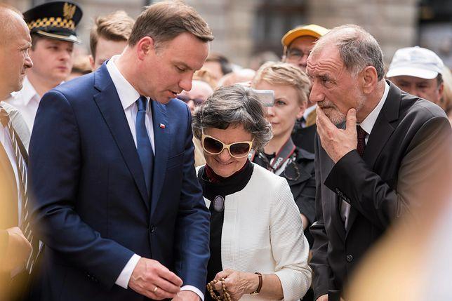 Prezydent Andrzej Duda z rodzicami