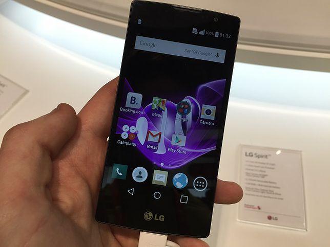 Tanie smartfony z topowymi funkcjami, smartwatch i wygięty telefon - LG na MWC