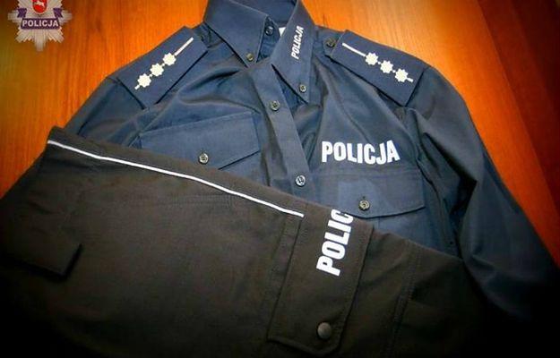 """Mundur, w którym podszywający się pod policjanta mężczyzna """"patrolował"""" ulice Lublina"""