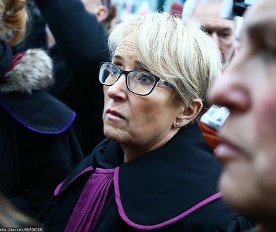 Kraków. Sędzia Beata Morawiec domaga się powrotu do pracy