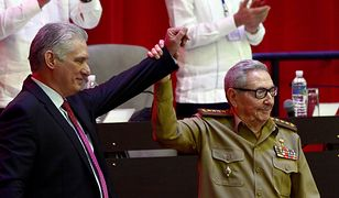 Miguel Diaz-Canel i Raul Castro EPA/ARIEL LEY ROYERO  Dostawca: PAP/EPA.