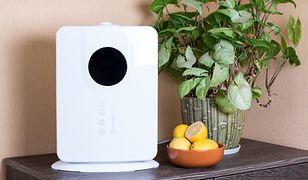 Oczyszczacz powietrza usuwa związki chemiczne, które negatywnie wpływają na nasze zdrowie i samopoczucie.