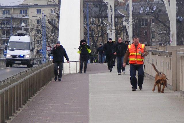 Czy psy niemieckiej policji wytropiły ślady Ewy Tylman?