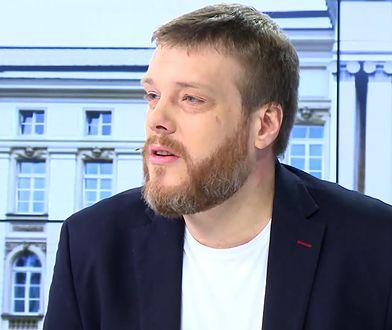 Adrian Zandberg ostro skrytykował Jarosława Kaczyńskiego