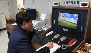 Gorąca linia łącząca Koreę Północną i Południową