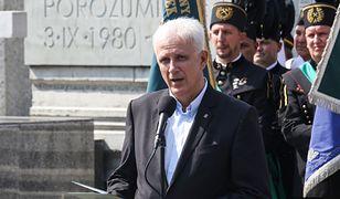 """Szef śląsko-dąbrowskiej """"Solidarności"""" Dominik Kolorz"""