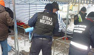 Strażnicy miejscy zrobili porządek przy Bakalarskiej