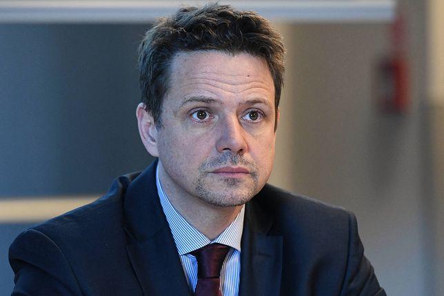 Rafał Trzaskowski jest krytykowany za projekty w Warszawie