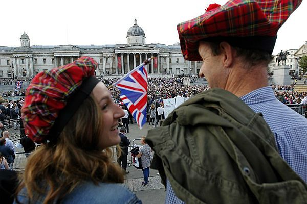Szkocja wybiera wynik referendum do końca niepewny