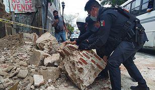 Meksyk. Potężne trzęsienie ziemi na południu kraju - są ofiary