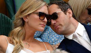 Jude Law z młodą żoną na Wimbledonie. Pobrali się dwa miesiące temu