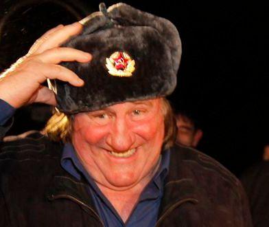 Gerard Depardieu chce otworzyć w Rosji restaurację
